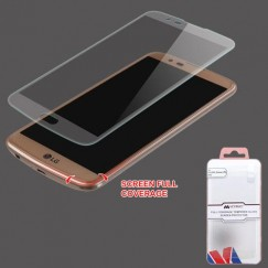 LG K10 LG-L62VL (Premier LTE)/K10 Full Coverage Tempered Glass Screen Protector/Translucent Frosted
