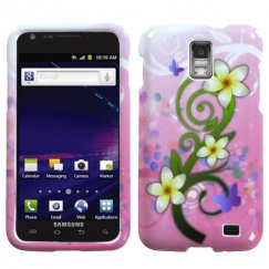 Samsung Galaxy S2 Skyrocket Tropical Flowers Case