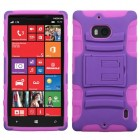 Nokia Lumia Icon Purple/Electric Pink Advanced Armor Stand Protector Cover