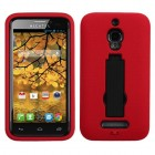 Alcatel One Touch Fierce Black/Red Symbiosis Stand Case
