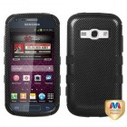 Samsung Galaxy Ring Carbon Fiber/Black Hybrid Phone Protector Cover
