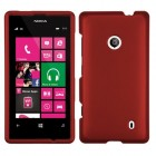 Nokia Lumia 521 Titanium Solid Red Case