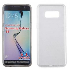 Samsung Galaxy S8 Glossy Transparent Clear Candy Skin Cover