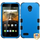 Alcatel One Touch Conquest Natural Dark Blue/Black Hybrid Case