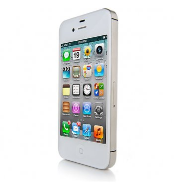 Apple iPhone 4S 16GB Bluetooth WHITE GPS WiFi Phone ATT