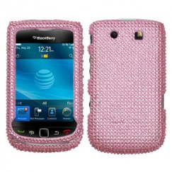 Blackberry 9800 Torch Pink Diamante Case