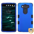 LG V10 Titanium Dark Blue/Black Hybrid Phone Protector Cover
