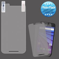 Motorola Moto G 3rd Gen Screen Protector Twin Pack