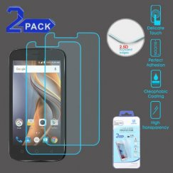 Coolpad Catalyst Tempered Glass Screen Protector - 2-pack
