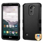 LG LG G Stylo 2 Plus Natural Black/Black Hybrid Phone Protector Cover