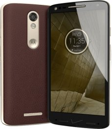 Motorola Droid Turbo 2 32GB XT1585 Android Smartphone for Verizon Wireless - Brown Leather