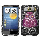 HTC HD7 Owl Diamante Protector Cover