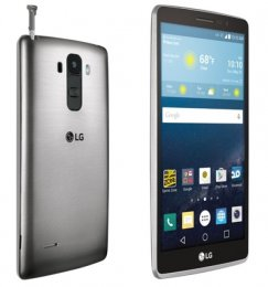 LG G Stylo H631 16GB Smartphone for T-Mobile - Silver