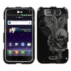 LG Viper Skull Wing Phone Protector Cover