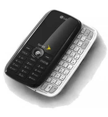 LG UX260 Rumor Bluetooth Camera MP3 phone for Sprint in BLACK