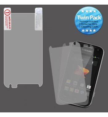 Samsung Galaxy Rush Screen Protector Twin Pack