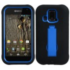 Kyocera Hydro XTRM Dark Blue/Black Symbiosis Stand Protector Cover