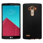 LG G4 Black Case - Rubberized