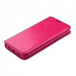 Samsung Galaxy S7 Hot Pink Wallet with Tray