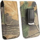 Samsung Galaxy S III Vertical Nylon Pouch with Magnetic Closure, Camouflage
