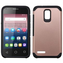 Alcatel Pixi 4 (3.5) Rose Gold/Black Astronoot Case