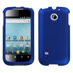 Huawei Ascend II / Prism / Summit Titanium Solid Dark Blue Case