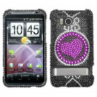 HTC ThunderBolt Center of Attention Diamante Case