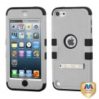 Apple iPod Touch (5th Generation) Natural Gray/Black Hybrid Case with Stand