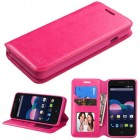 ZTE Obsidian Hot Pink Wallet(with Tray)