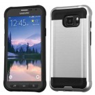 Samsung Galaxy S7 Active Silver/Black Brushed Hybrid Case