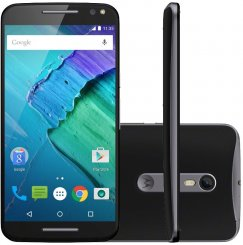 Motorola Moto X Style 16GB XT1575 Android Smartphone - Straight Talk Wireless - Black