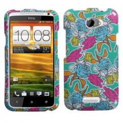 HTC One X Rose Garden Case
