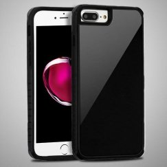 Black Tempered Glass/Black Fusion Protector Cover