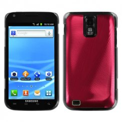 Samsung Galaxy S2 Red Cosmo Back Case