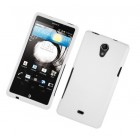 Sony Xperia TL Hard Rubberized Case - White