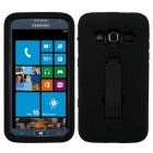 Samsung Ativ S Neo SGH-I187 Black/Black Symbiosis Stand Protector Cover