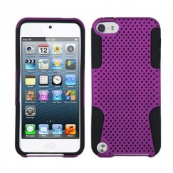 Apple iPod Touch (5th Generation) Purple/Black Astronoot Case