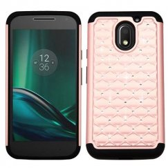 Motorola Moto E3 Rose Gold/Black FullStar Case