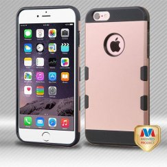 Apple iPhone 6 Plus Rose Gold/Black Hybrid Case