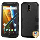 Motorola Moto G4 / Moto G4 Plus Natural Black/Black Hybrid Case