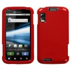 Motorola Atrix 4G Solid Flaming Red Phone Protector Cover