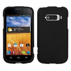 ZTE Imperial Black Case - Rubberized