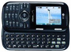 LG Cosmos VN250PP QWERTY Messaging Phone for PREPAID Verizon - Black