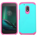 Motorola Moto G4 Play Teal Green/Hot Pink Astronoot Phone Protector Cover