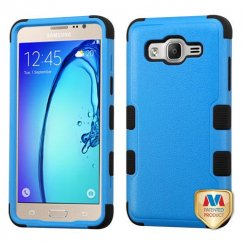 Samsung Galaxy On5 Natural Dark Blue/Black Hybrid Case