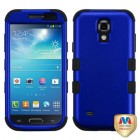 Samsung Galaxy S4 mini Titanium Dark Blue/Black Hybrid Phone Protector Cover