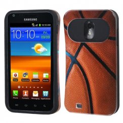 Samsung Epic 4G Touch (Galaxy S2) Basketball-Sports Collection/Black Back Case
