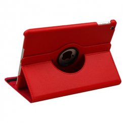 AppleiPad iPad Air 1st Gen Red Premium Rotatable Wallet