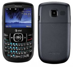 Pantech Link II QWERTY Keyboard Phone - ATT Wireless - Black