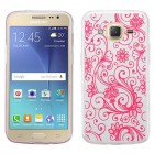 Samsung Galaxy J2 Hot Pink four-leaf Clover Candy Skin Cover